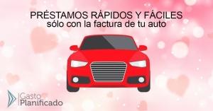 Préstamos con la factura de tu auto en León